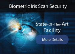 Biometric Iris Security Scan